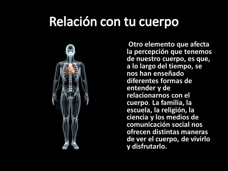 Relación con tu cuerpo