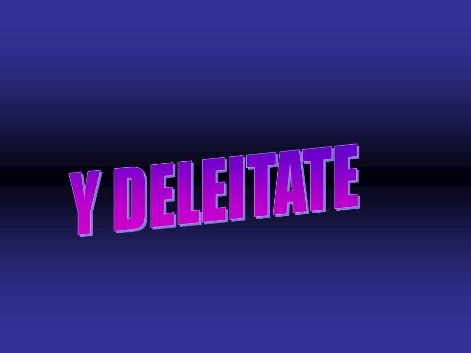 Y DELEITATE