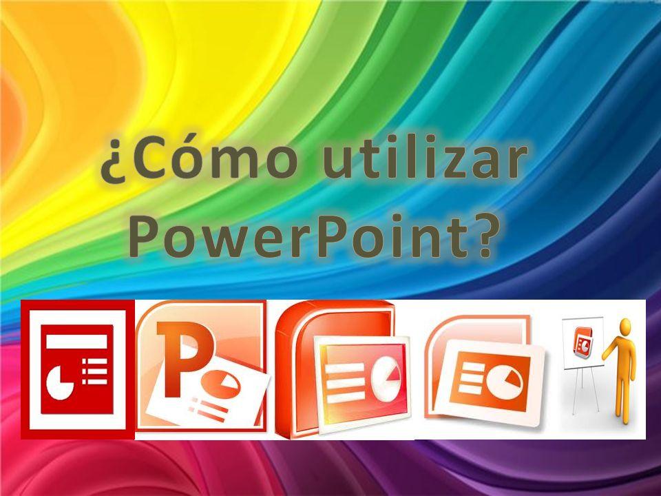 ¿Cómo utilizar PowerPoint