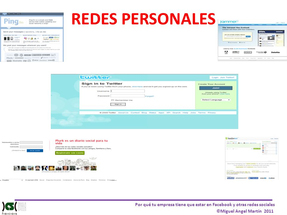 REDES PERSONALES