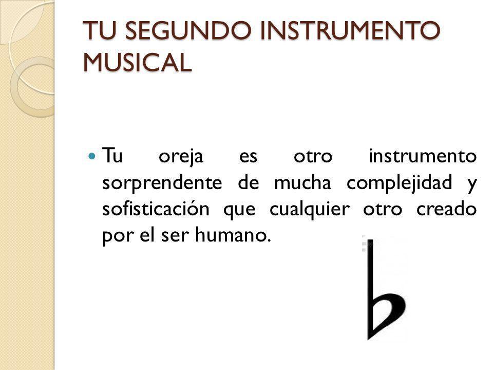 TU SEGUNDO INSTRUMENTO MUSICAL