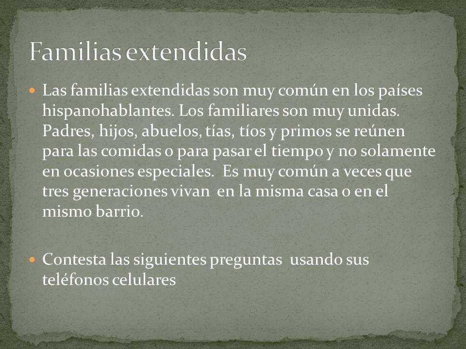 Familias extendidas