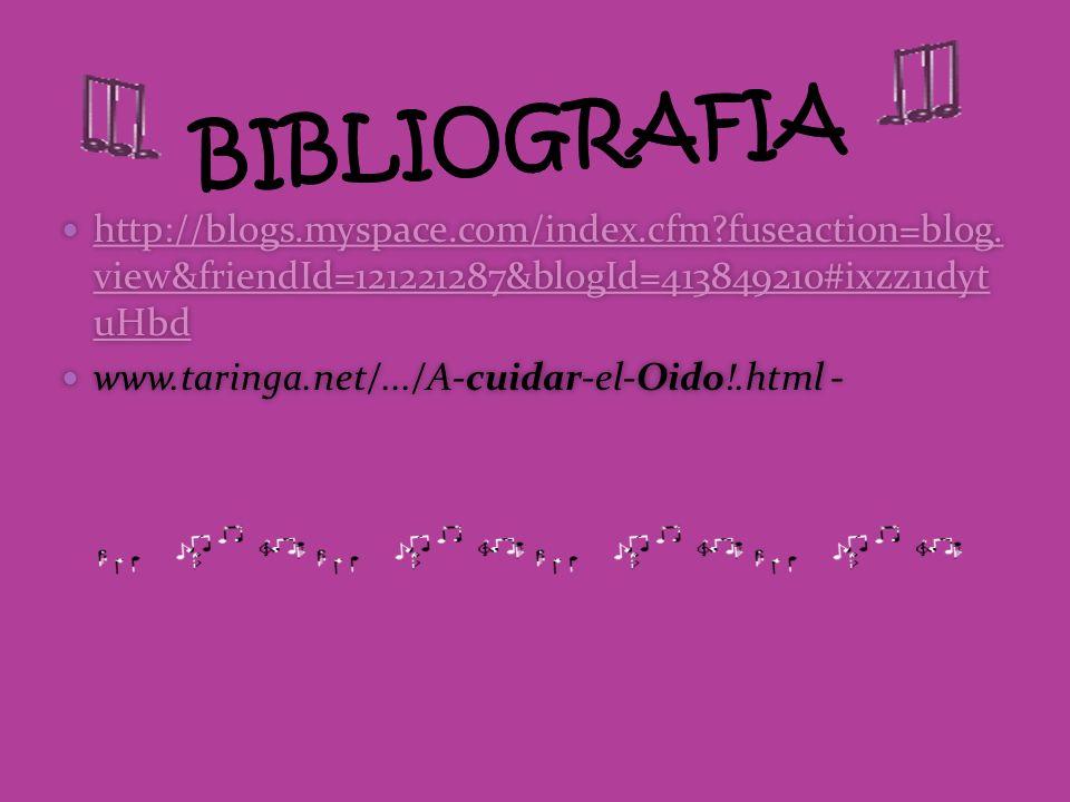 BIBLIOGRAFIA http://blogs.myspace.com/index.cfm fuseaction=blog. view&friendId=121221287&blogId=413849210#ixzz11dyt uHbd.