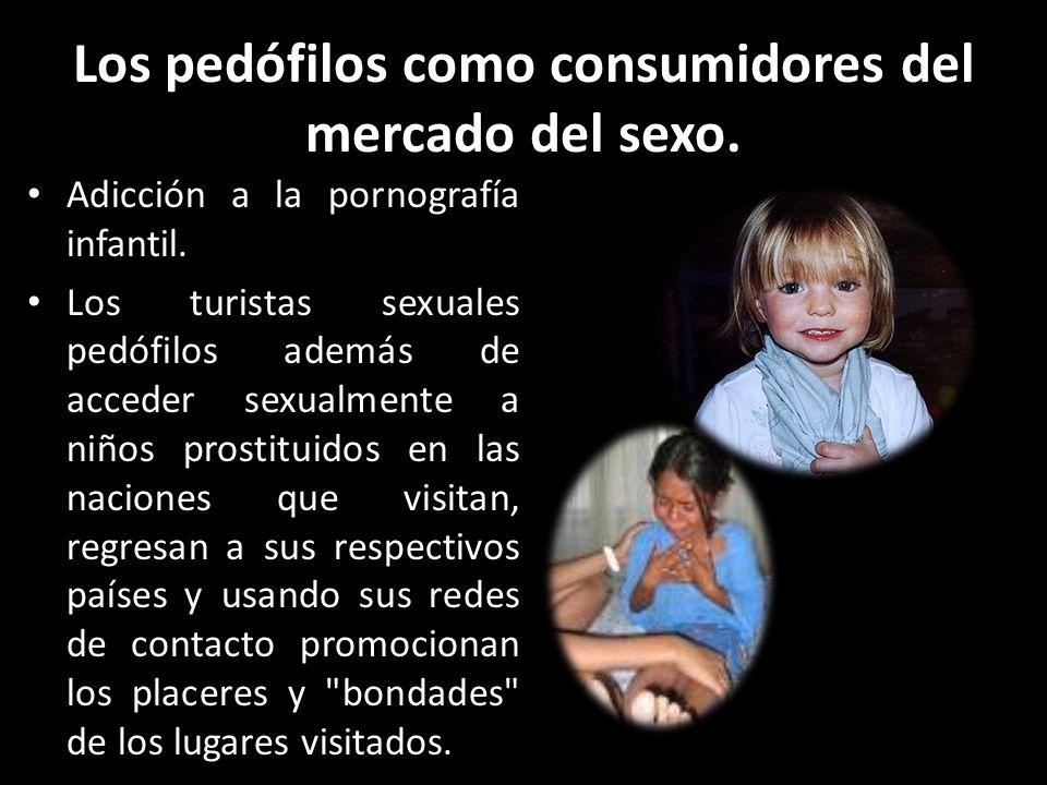 Los pedófilos como consumidores del mercado del sexo.