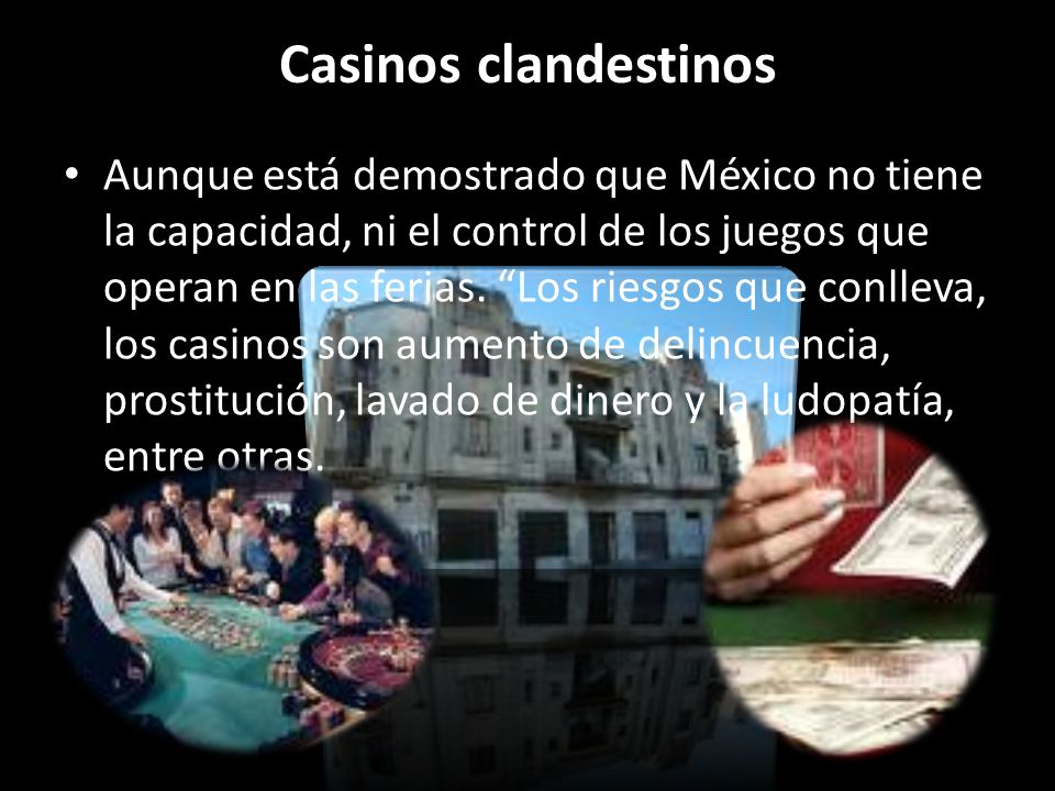 Casinos clandestinos