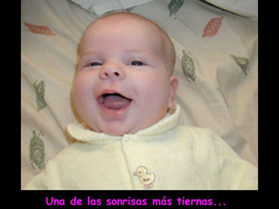 Una de las sonrisas más tiernas...