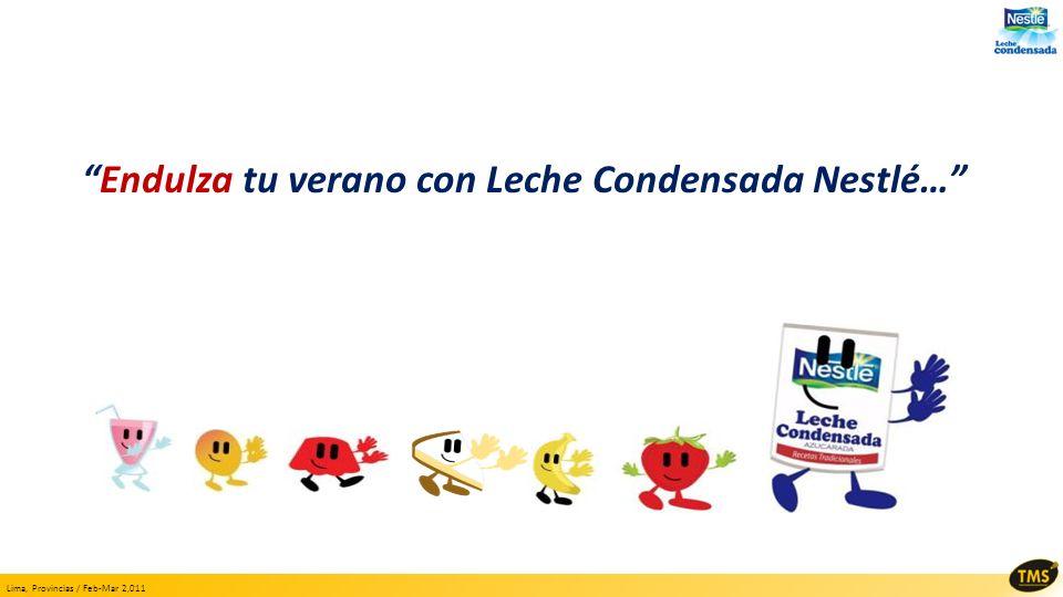 Endulza tu verano con Leche Condensada Nestlé…