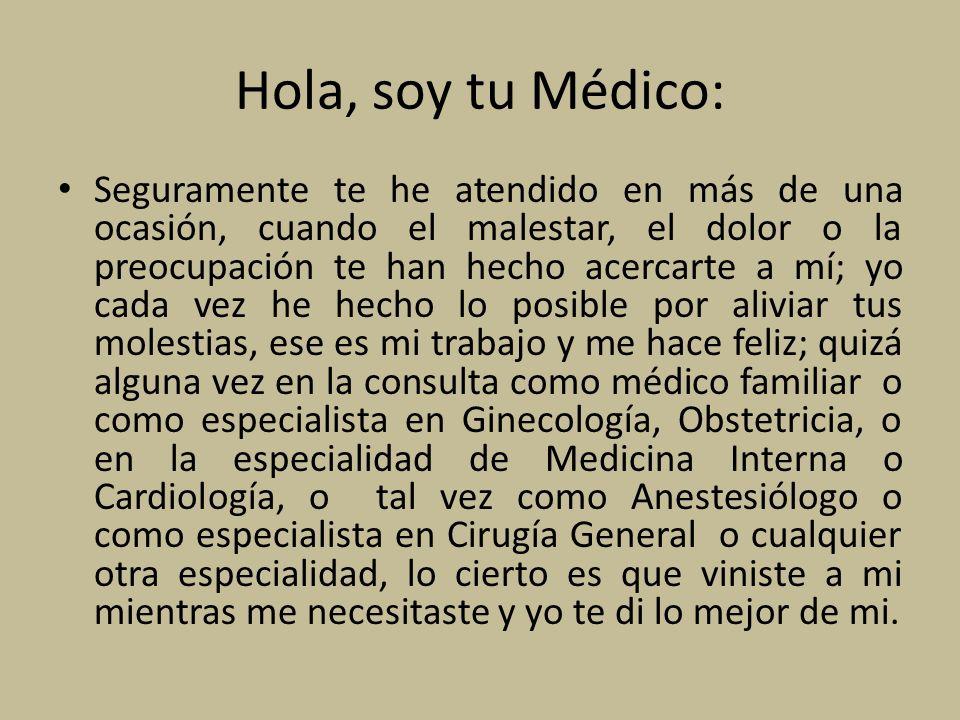 Hola, soy tu Médico: