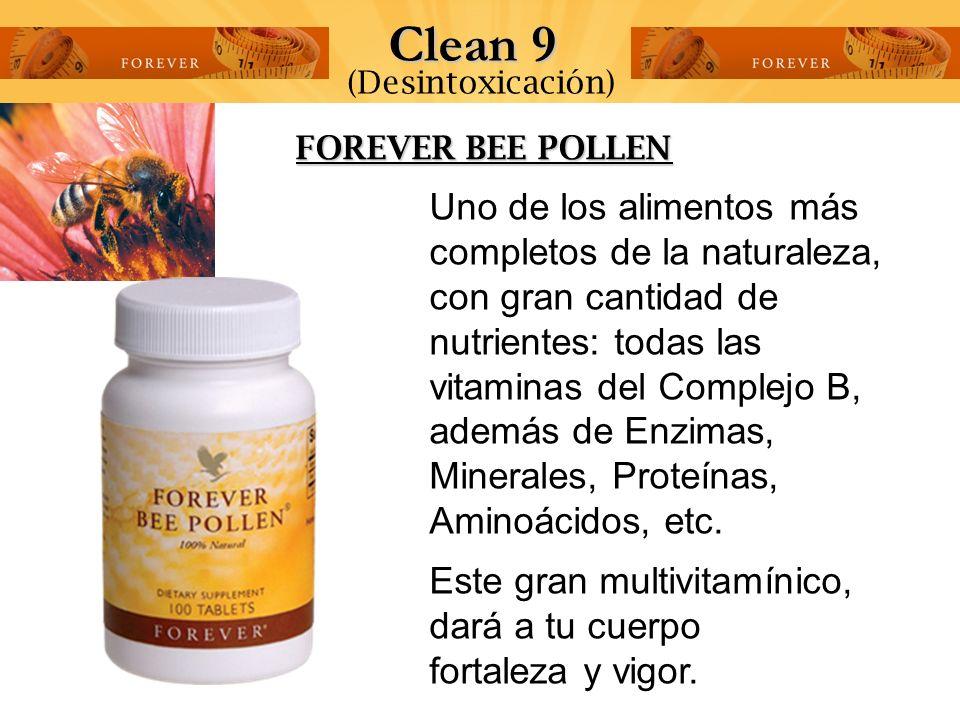 Clean 9 (Desintoxicación) FOREVER BEE POLLEN.
