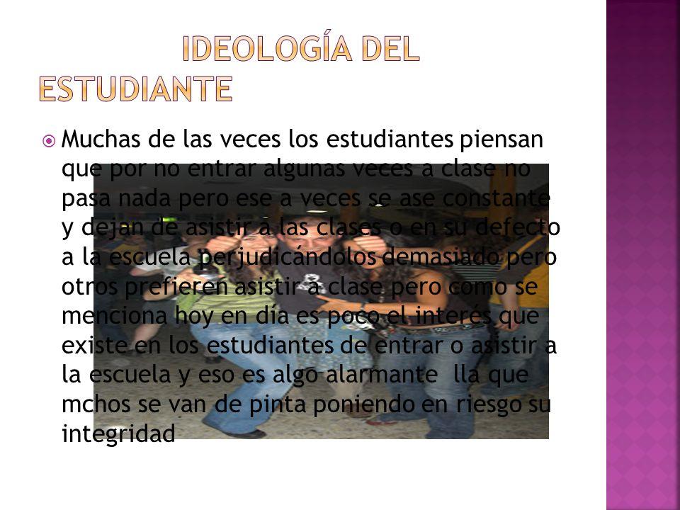 Ideología del estudiante