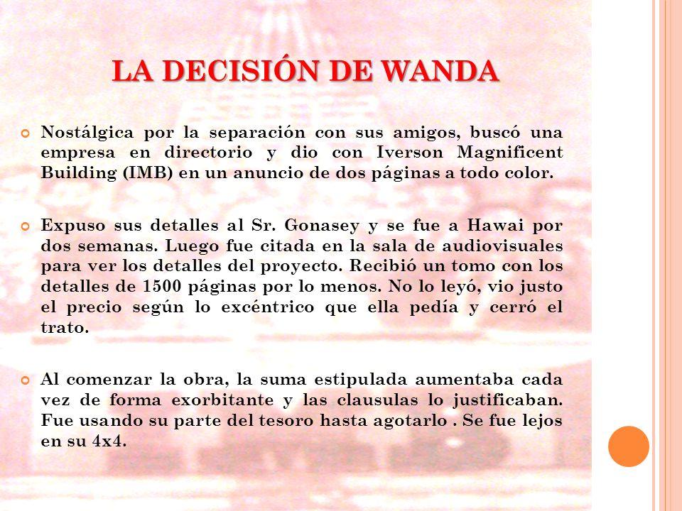 LA DECISIÓN DE WANDA