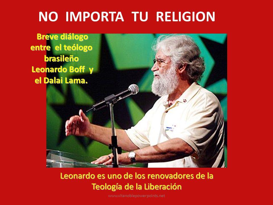 Breve diálogo entre el teólogo brasileño