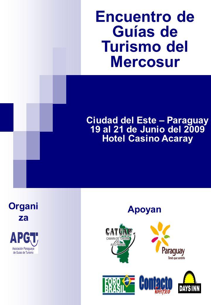 Encuentro de Guías de Turismo del Mercosur