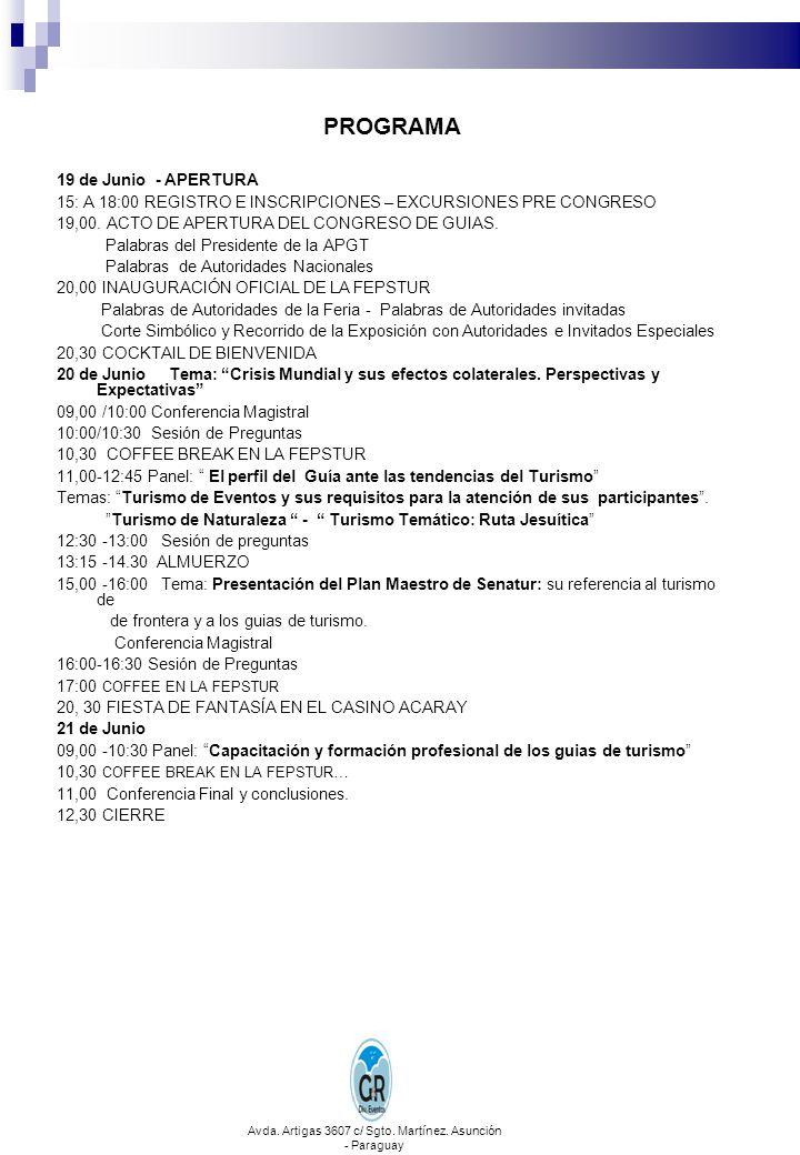 Avda. Artigas 3607 c/ Sgto. Martínez. Asunción - Paraguay