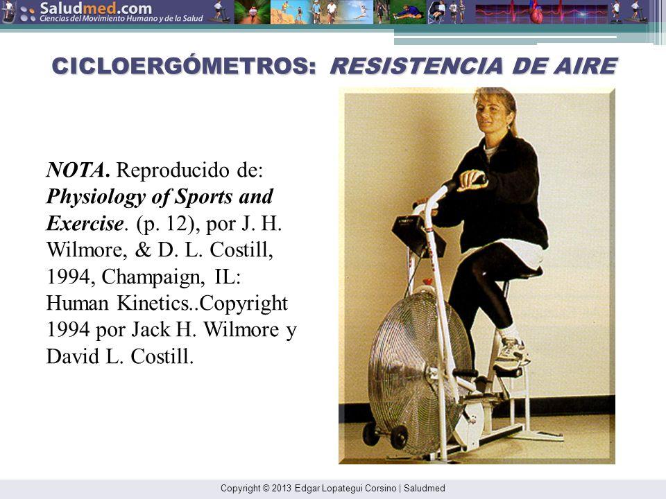 CICLOERGÓMETROS: RESISTENCIA DE AIRE