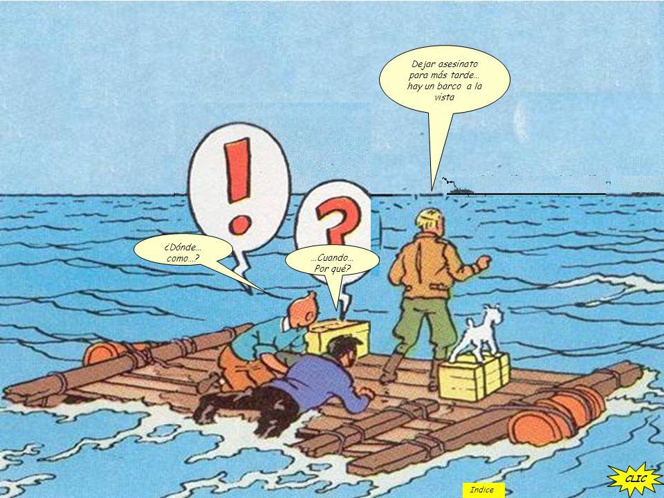 Dejar asesinato para más tarde… hay un barco a la vista