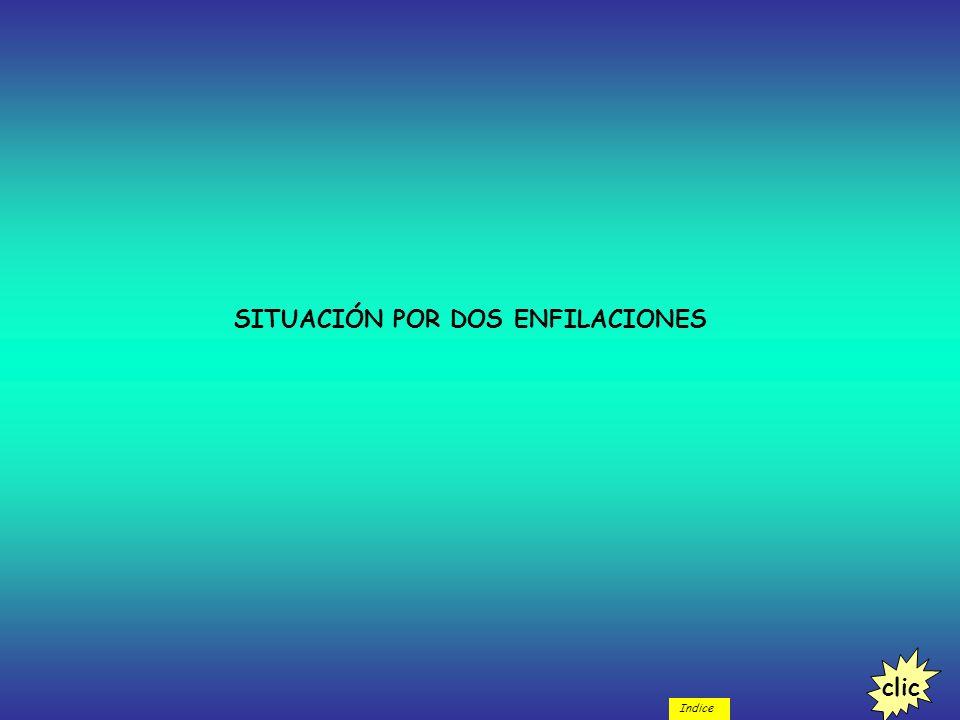 SITUACIÓN POR DOS ENFILACIONES