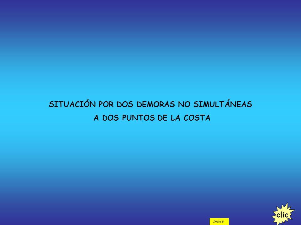SITUACIÓN POR DOS DEMORAS NO SIMULTÁNEAS