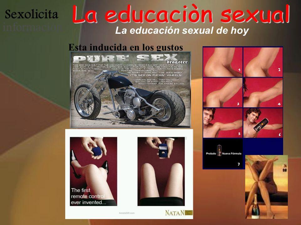 La educación sexual de hoy