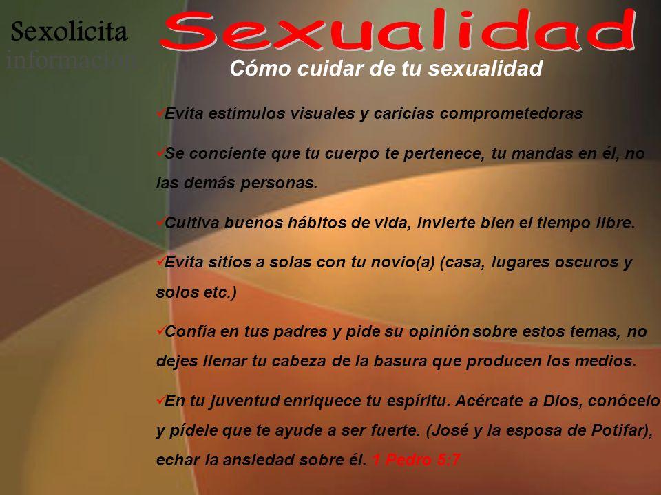 Cómo cuidar de tu sexualidad