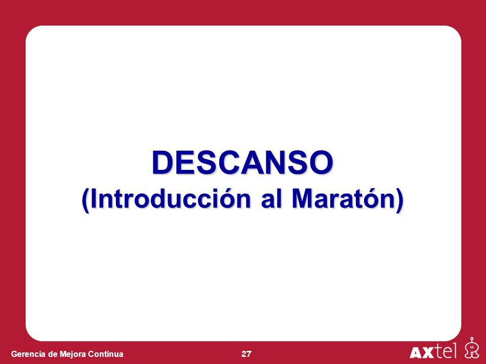 (Introducción al Maratón)