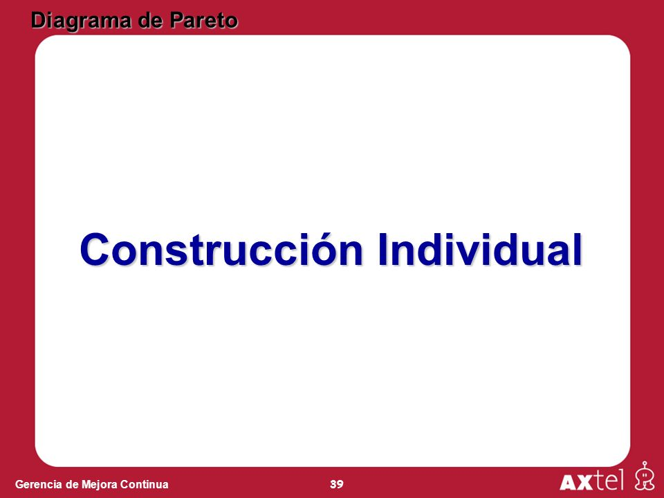Construcción Individual