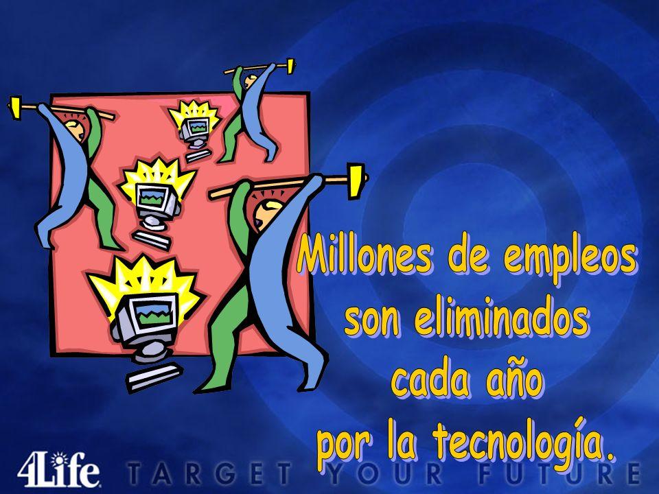 Millones de empleos son eliminados cada año por la tecnología.