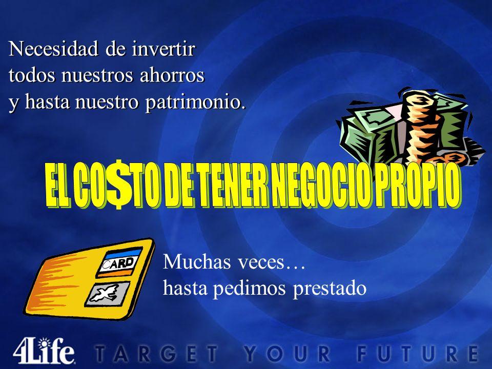 EL CO TO DE TENER NEGOCIO PROPIO