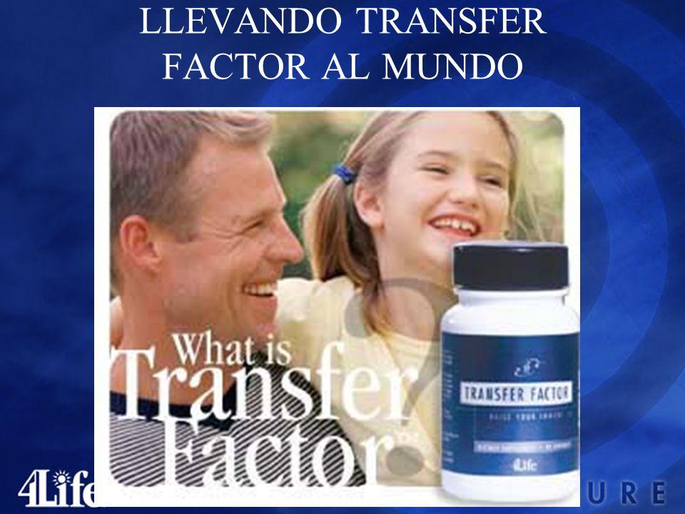 LLEVANDO TRANSFER FACTOR AL MUNDO