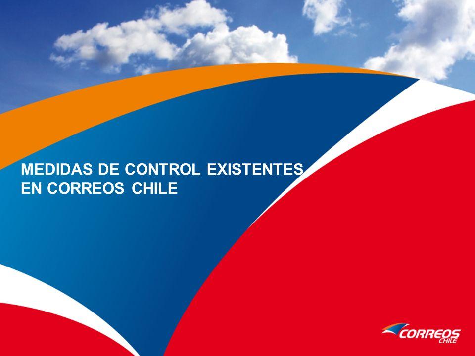 MEDIDAS DE CONTROL EXISTENTES EN CORREOS CHILE