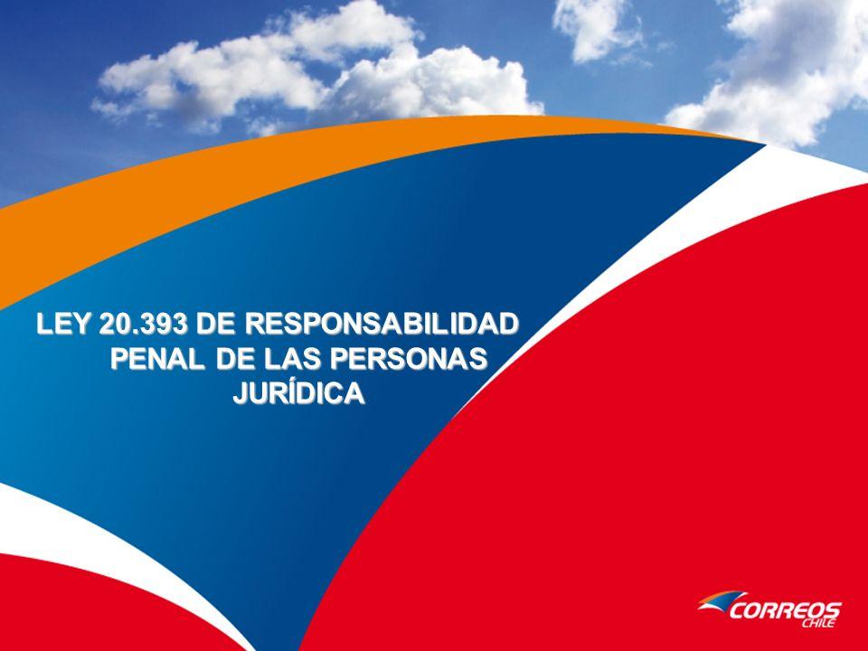 LEY 20.393 DE RESPONSABILIDAD PENAL DE LAS PERSONAS JURÍDICA
