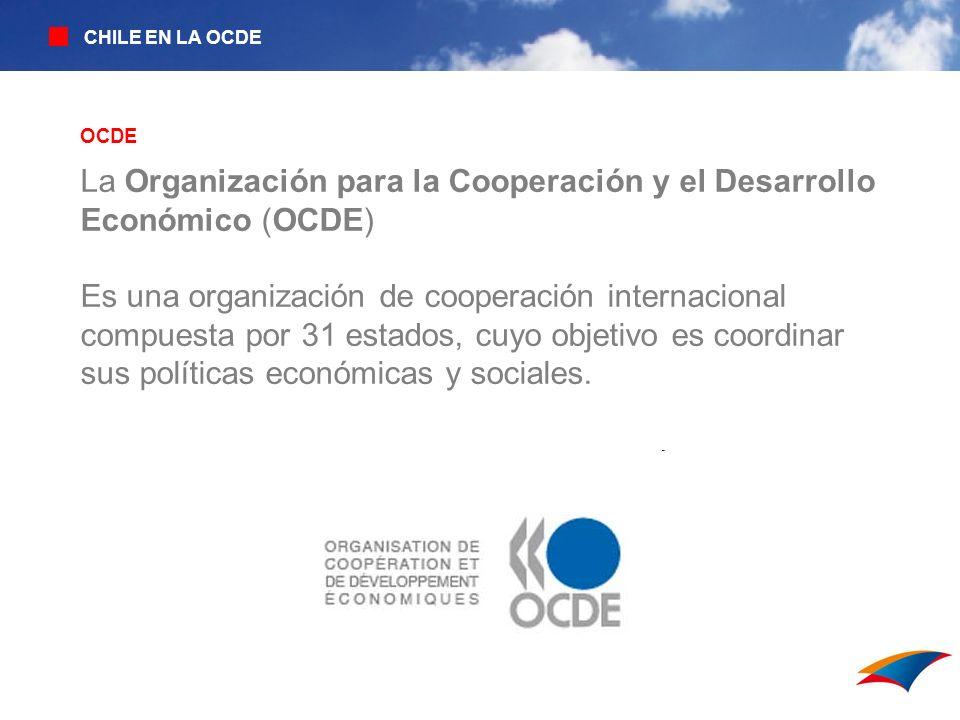La Organización para la Cooperación y el Desarrollo Económico (OCDE)