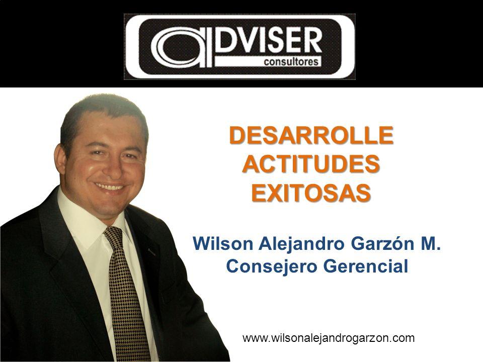 Wilson Alejandro Garzón M. Consejero Gerencial