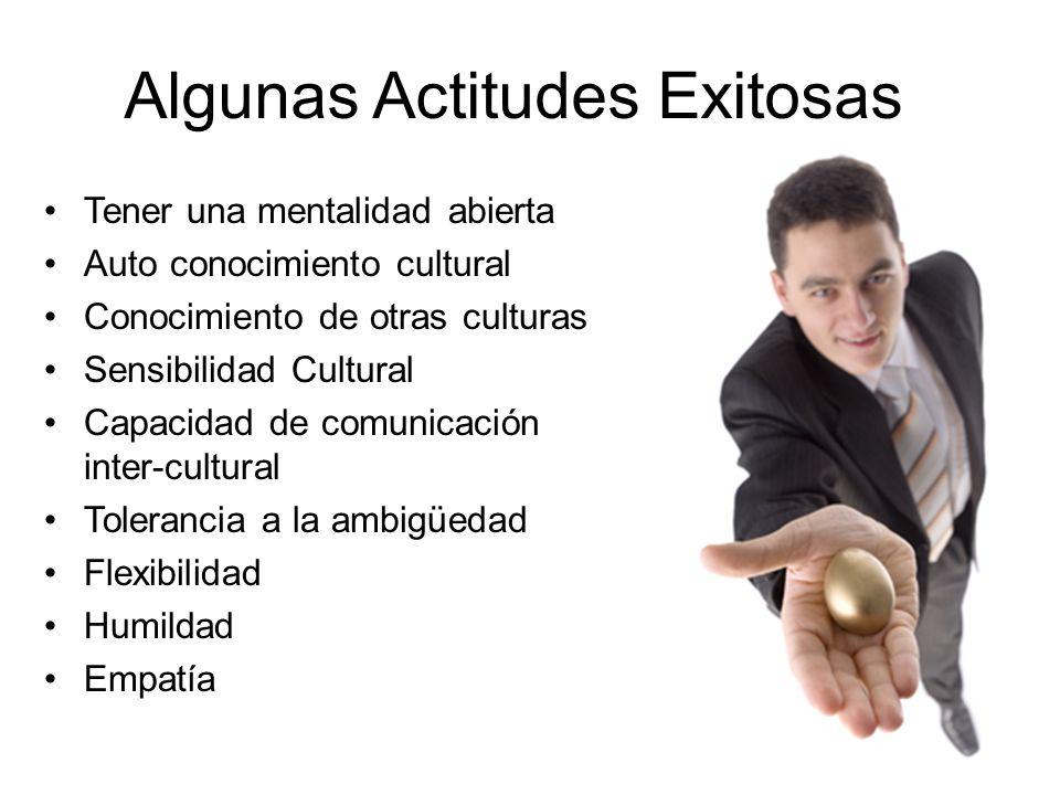 Algunas Actitudes Exitosas