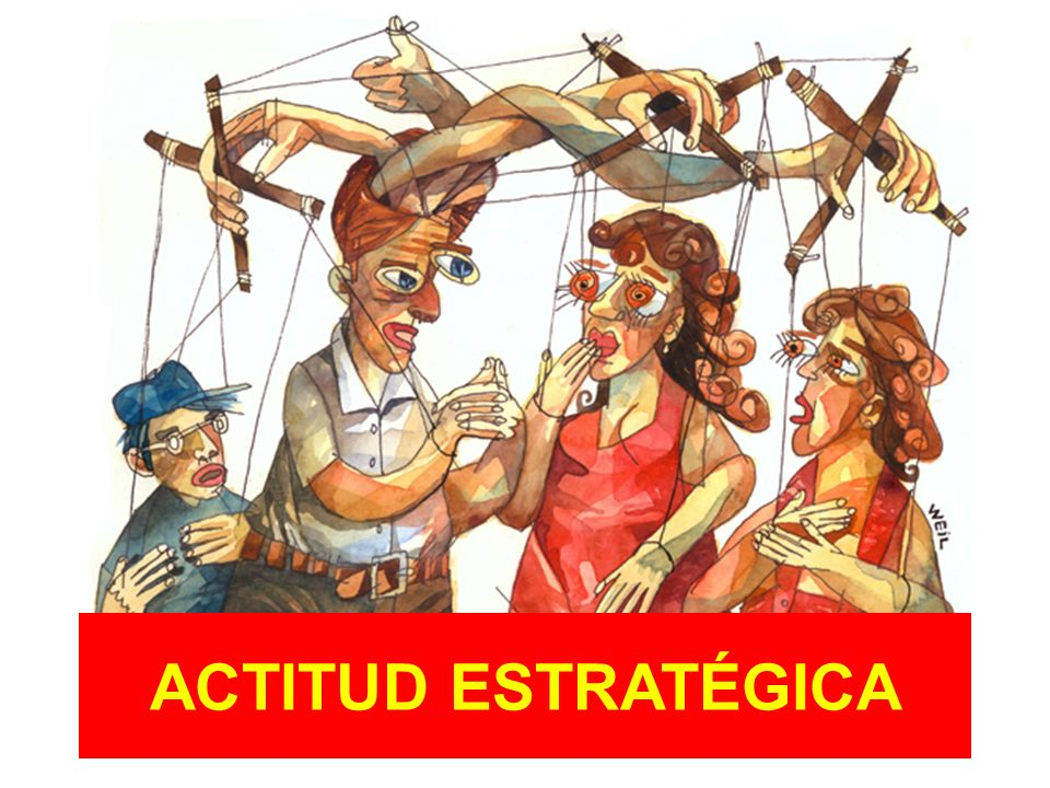 ACTITUD ESTRATÉGICA