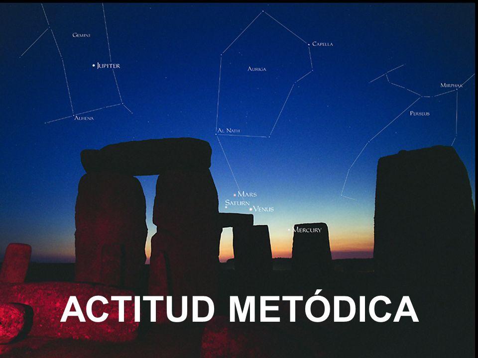 ACTITUD METÓDICA