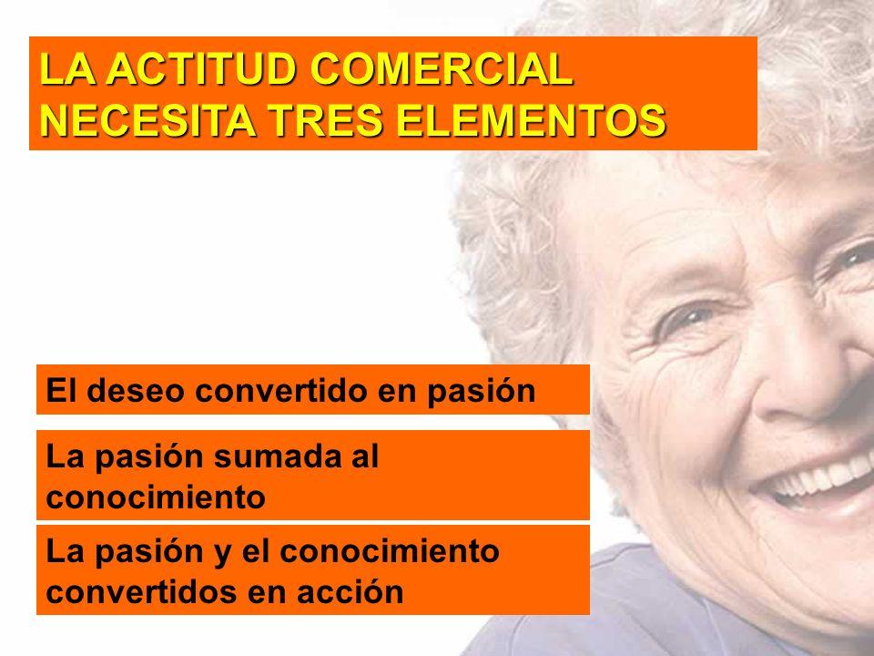 LA ACTITUD COMERCIAL NECESITA TRES ELEMENTOS
