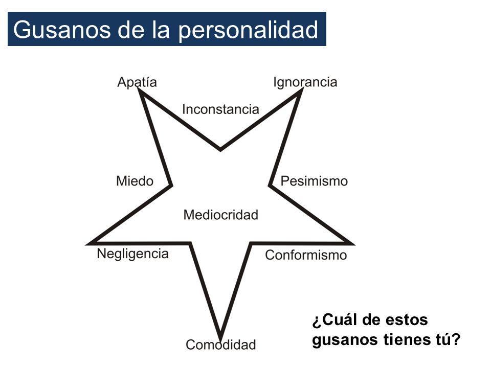 Gusanos de la personalidad