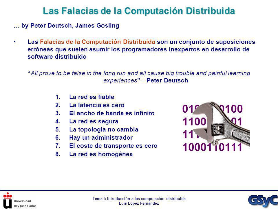 Las Falacias de la Computación Distribuida