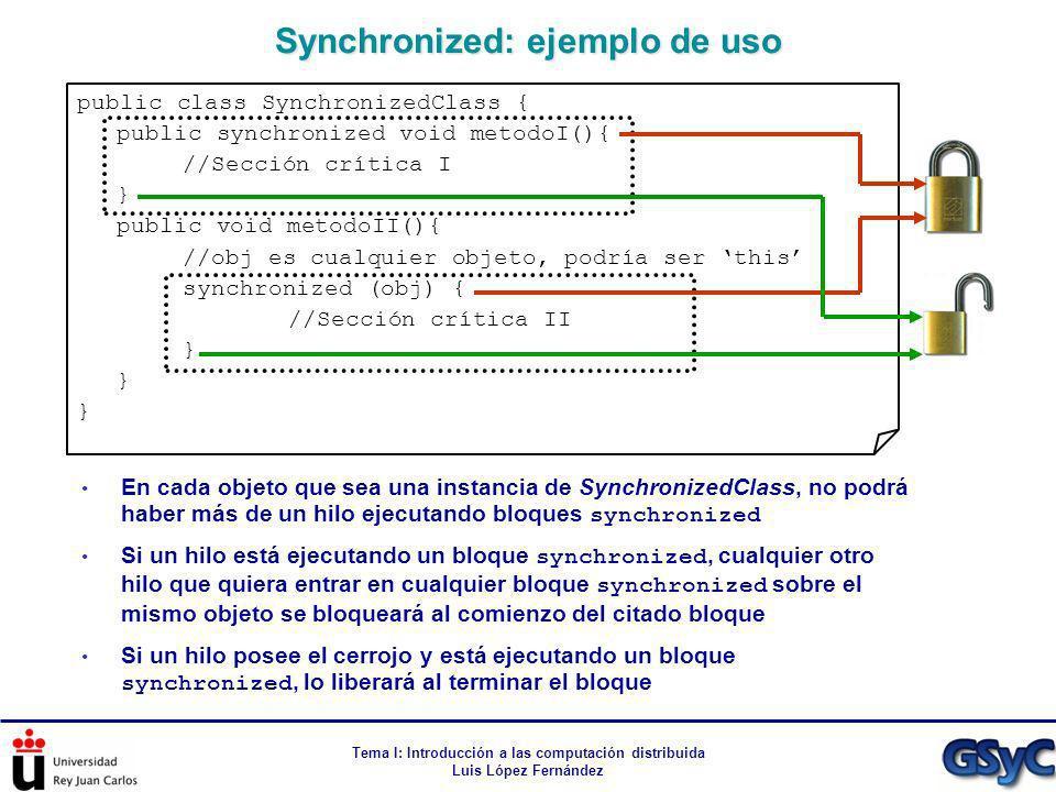 Synchronized: ejemplo de uso