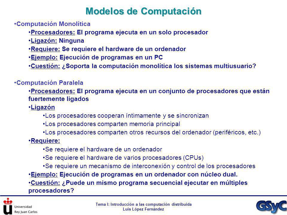 Modelos de Computación