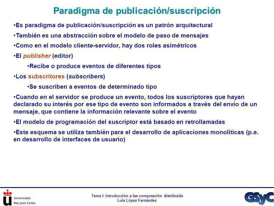Paradigma de publicación/suscripción