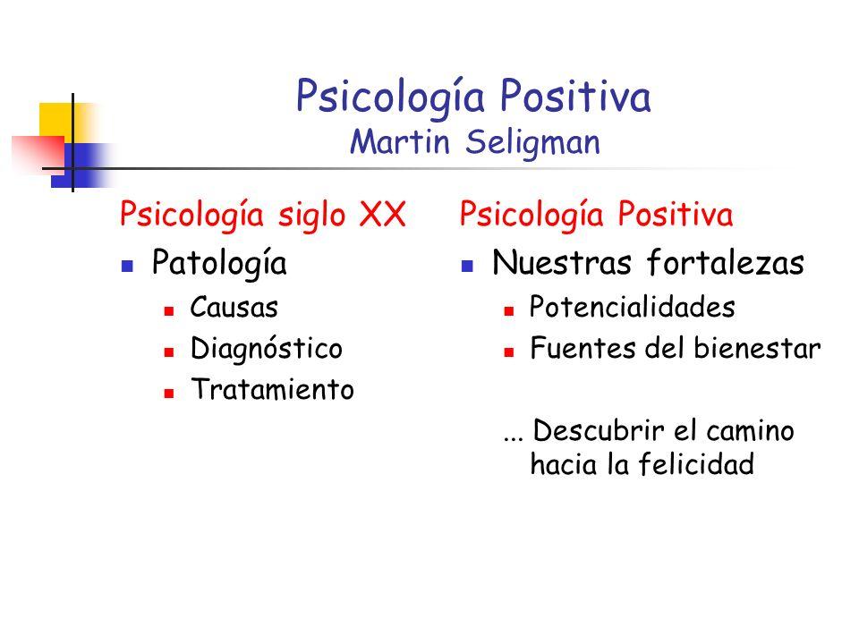 Psicología Positiva Martin Seligman