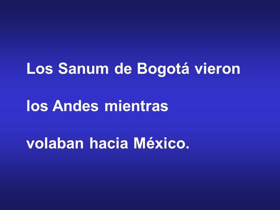 Los Sanum de Bogotá vieron