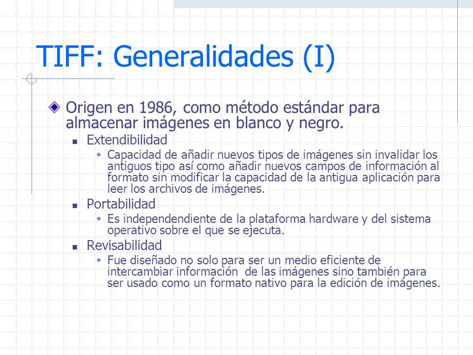 TIFF: Generalidades (I)