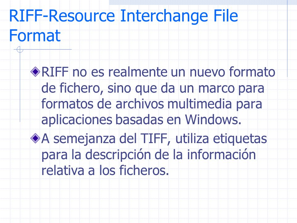 RIFF-Resource Interchange File Format