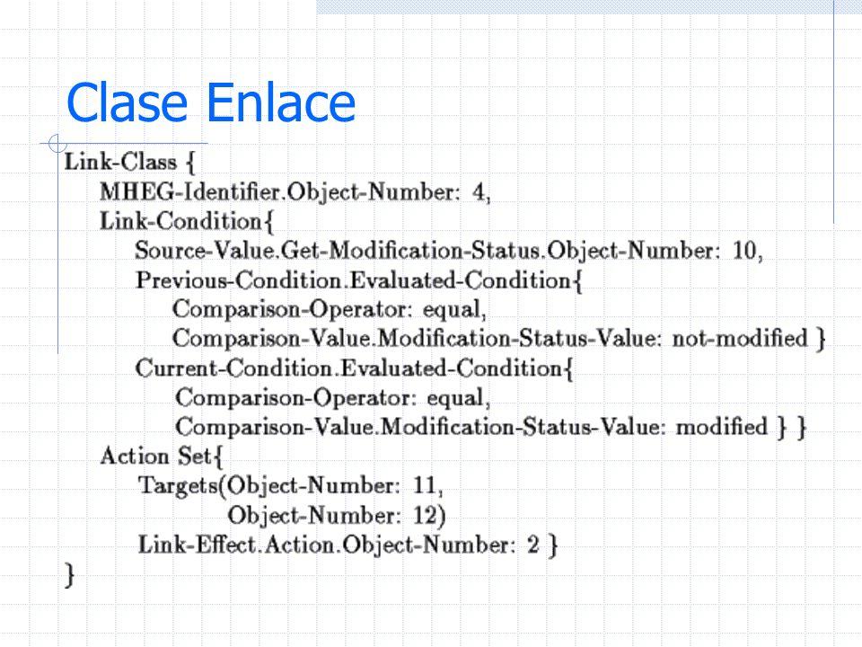 Clase Enlace