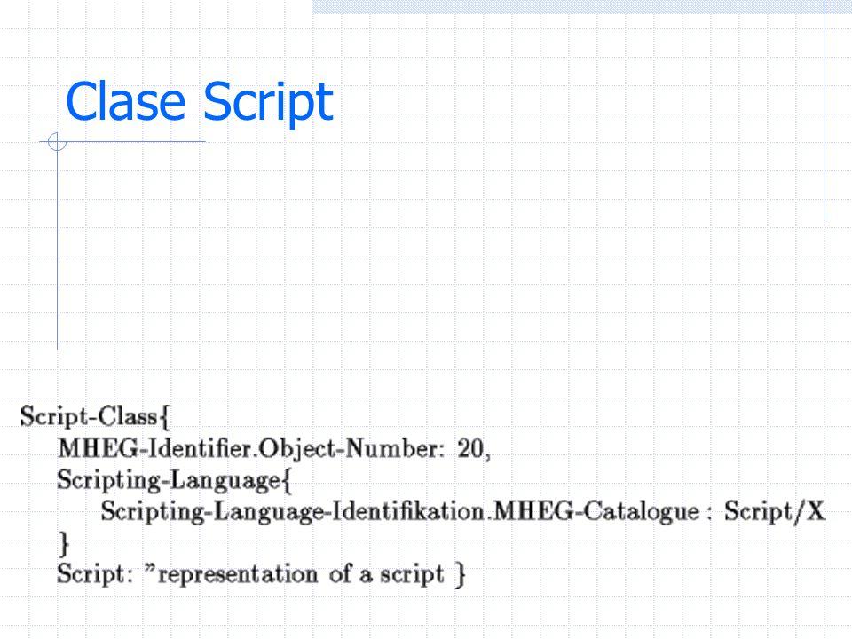 Clase Script