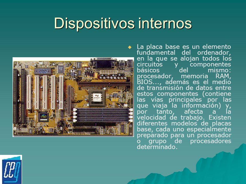 Dispositivos internos