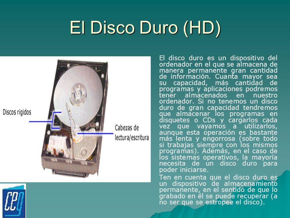 El Disco Duro (HD)